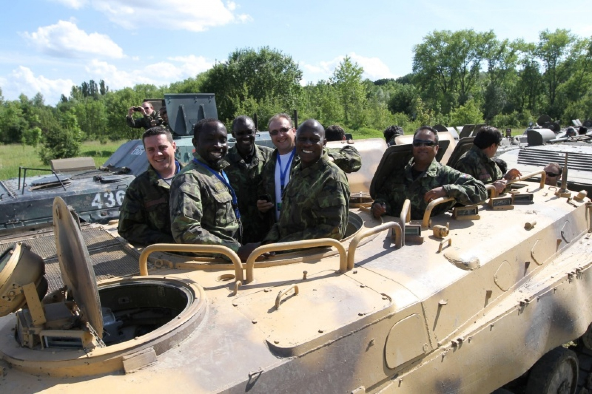 People in BMP-1
