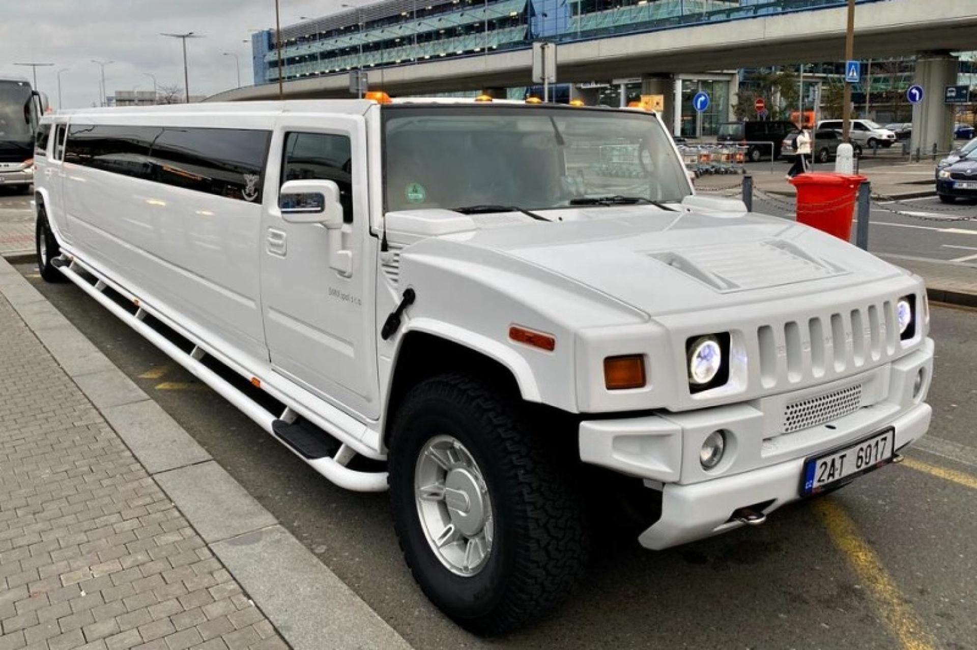 hummer limousine prague airport