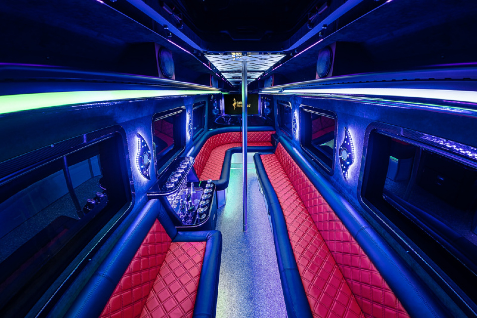 Goldfingers VIP Shuttle interior