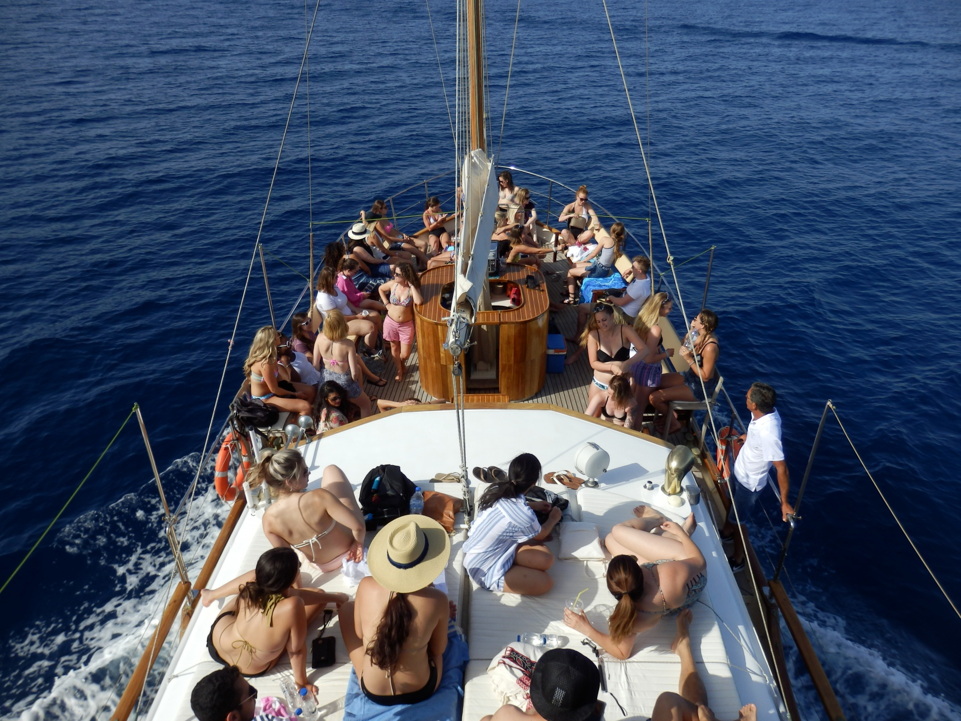 Athens boat party