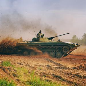 BMP-1 Riding Experience Prague