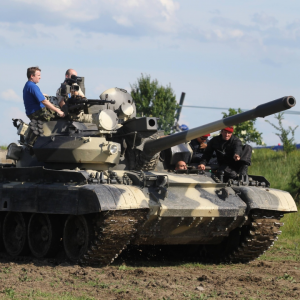 Battle Tank Driving Experience Prague