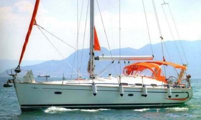 Athens boat party sailing boat